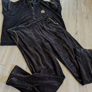 Lauren Ralph Lauren Women's Velvet Full Zip Hoodie
